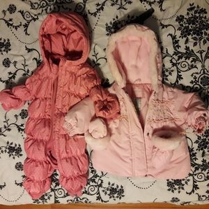 12M Pink Winter Coats